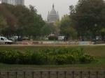 Perspectiva desde el parque  Almagro