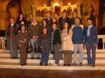 Catequistas en la cripta