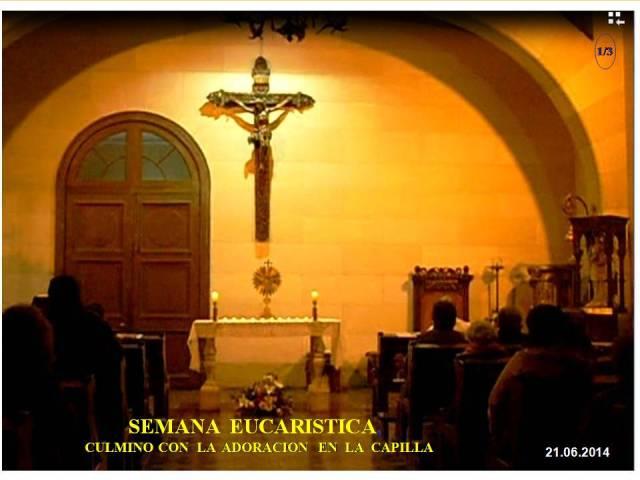 21.06.2014 Viernes Semana Eucaristica 1de3